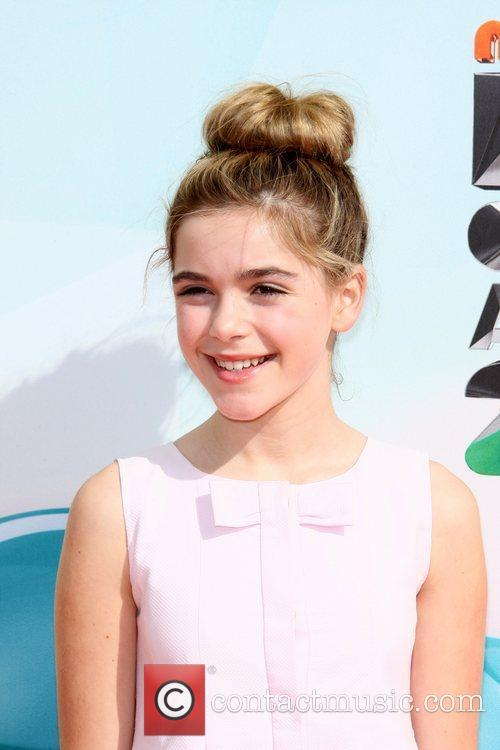 Kiernan Shipka 2012 Kids Choice Awards held at...