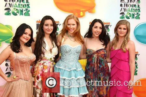 Molly C. Quinn and guests 2012 Kids Choice...