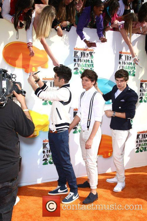 One Direction 2012 Kids Choice Awards held at...