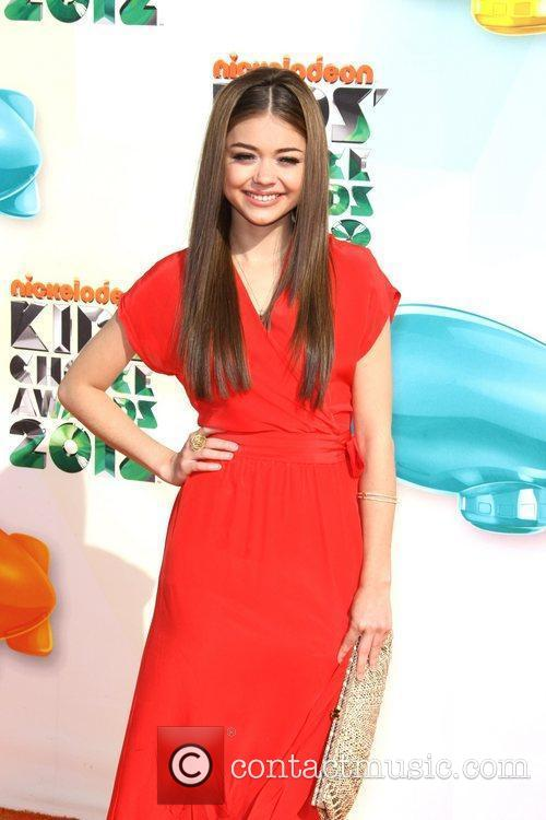 Sarah Hyland 2012 Kids Choice Awards held at...