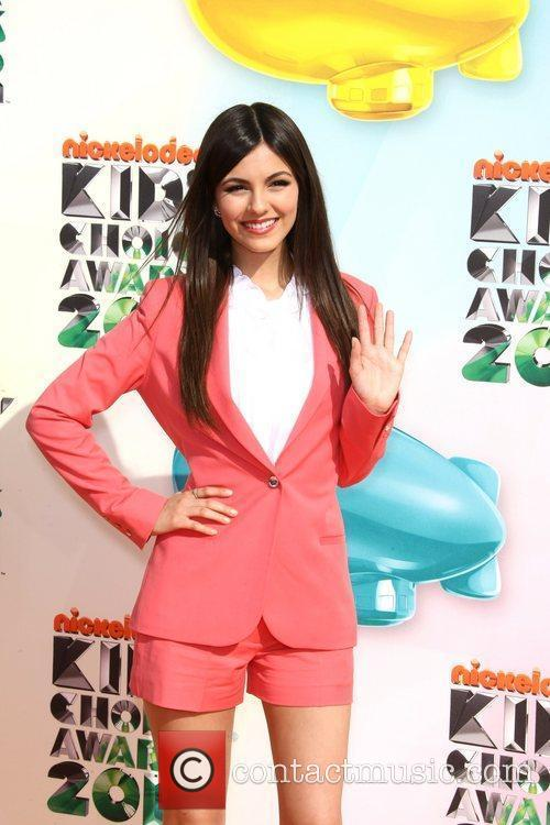 Victoria Justice 2012 Kids Choice Awards held at...