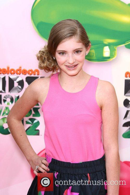 Willow Shields 2012 Kids Choice Awards held at...