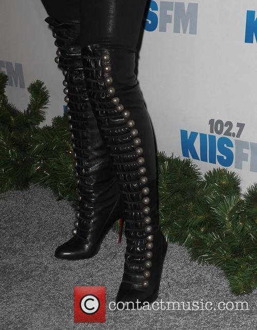 Jingle Ball, G, Guess, Nokia Theatre L., A. Live and Arrivals 5