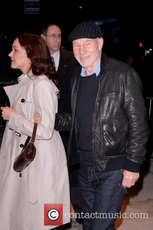 Patrick Stewart and Sunny Ozell 3