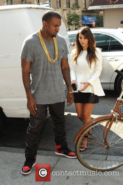 Kim Kardashian and Kanye West 9