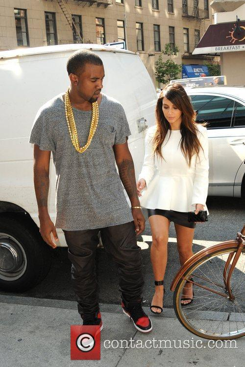 Kim Kardashian and Kanye West 10