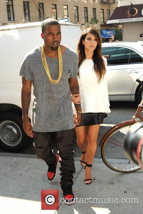 kim kardashian and kanye west are seen 5902589