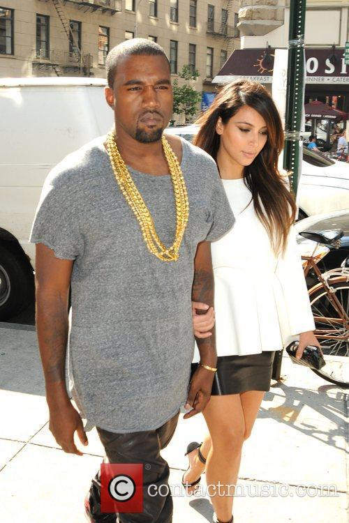 Kim Kardashian and Kanye West 17