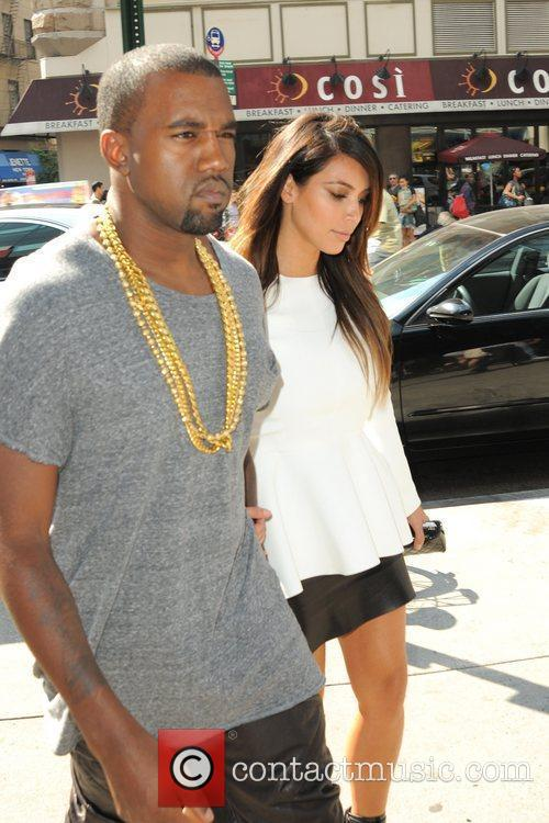 Kim Kardashian and Kanye West 18
