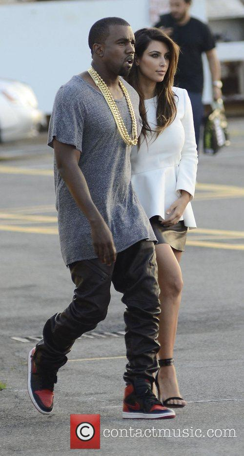 Kim Kardashian and Kanye West 16