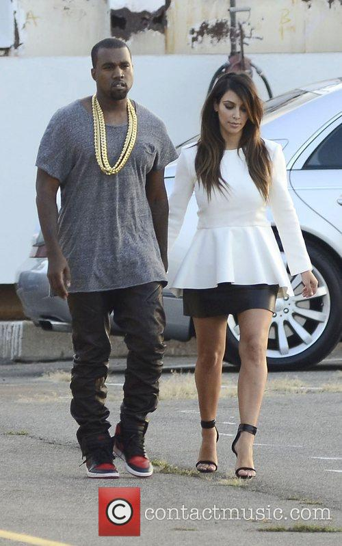 Kim Kardashian and Kanye West 20