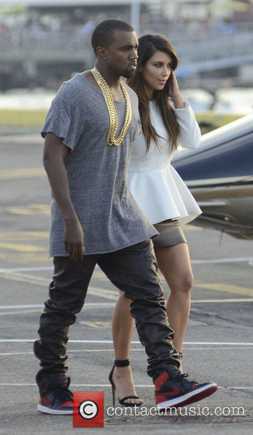 Kim Kardashian and Kanye West 22