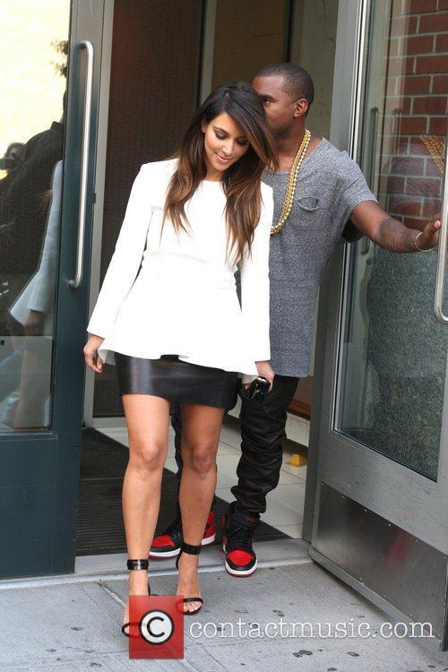 Kim Kardashian and Kanye West 19