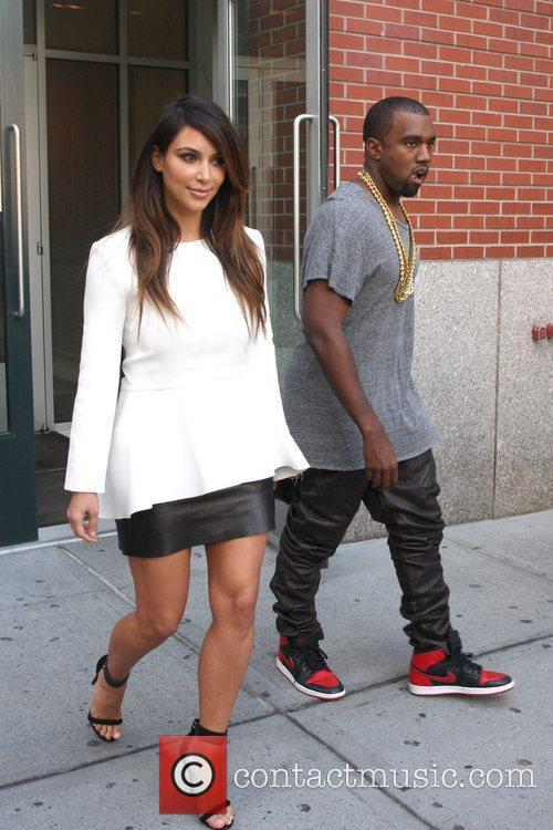 kim kardashian and kanye west are seen 5902626