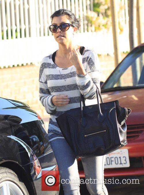 Leaving a friend's house in Beverly Hills