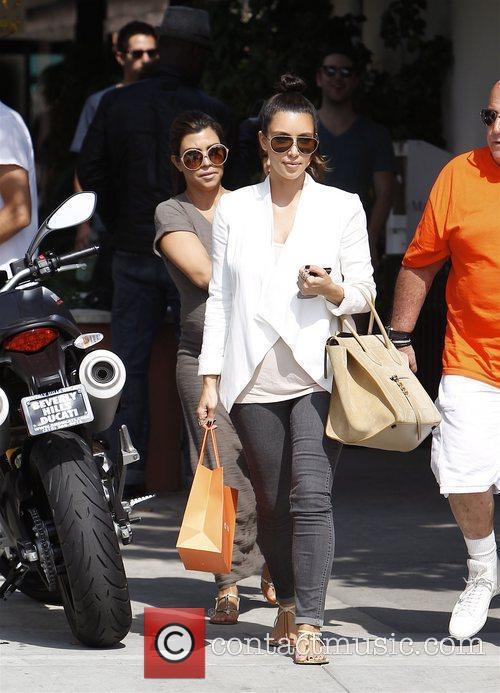 Kourtney Kardashian, Kim Kardashian, Mason