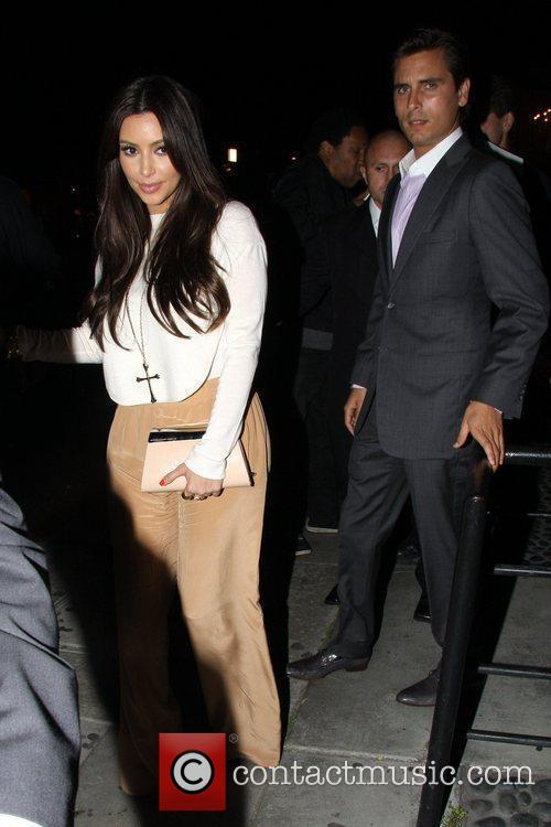 Kim Kardashian and Scott Disick 4