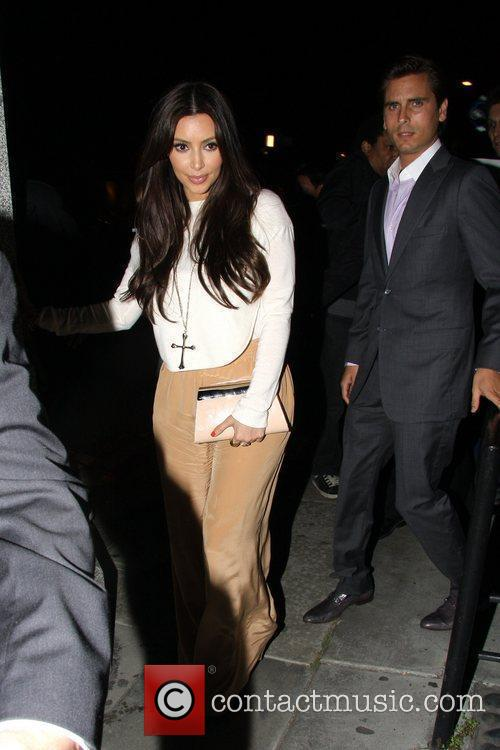 Kim Kardashian and Scott Disick 5