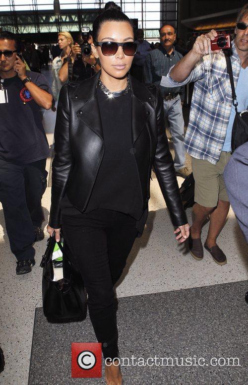 kim kardashian is seen lax airport departing 5842626