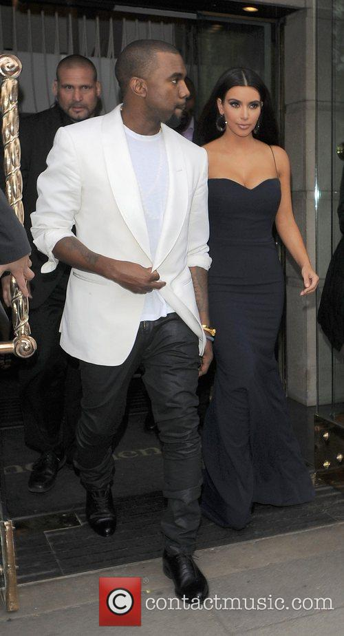 Kanye West and Kim Kardashian 2