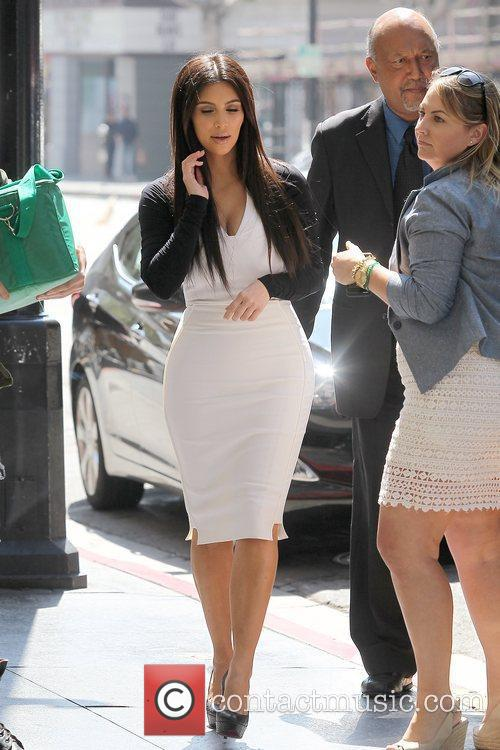 Kim Kardashian heading to an appointment in Hollywood...