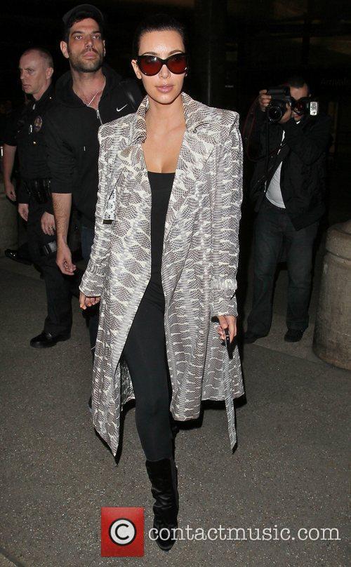 kim kardashian arrives at lax airport after 3908947