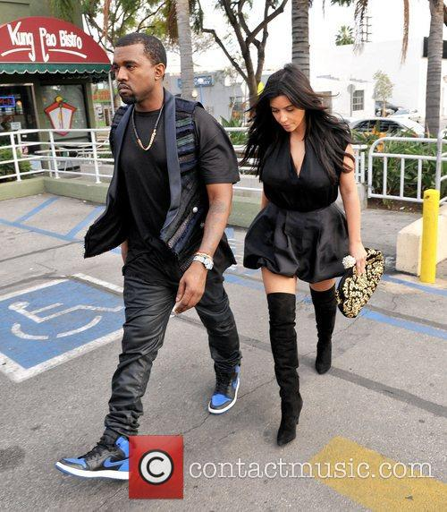 Kanye West and Kim Kardashian 3