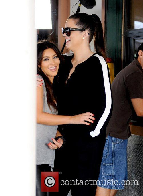 Kim Kardashian and Khloe Kardashian 9