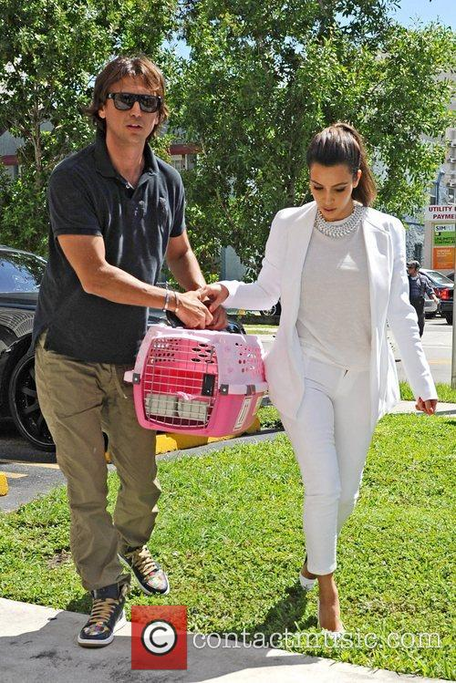 Kim Kardashian and Jonathan Cheban 4