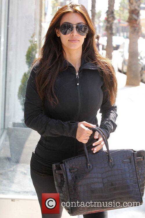 kim kardashian at laser away in santa 4020832