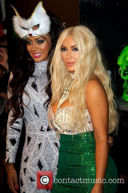 La La Anthony and Kim Kardashian 2
