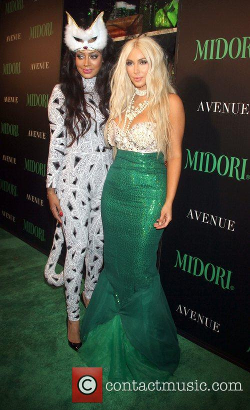 Lala Anthony and Kim Kardashian 2