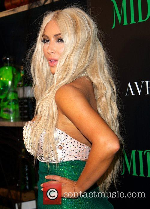 kim kardashian dressed as a mermaid attends 4148361