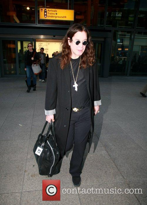 ozzy osbourne arriving at heathrow airport london 3884196
