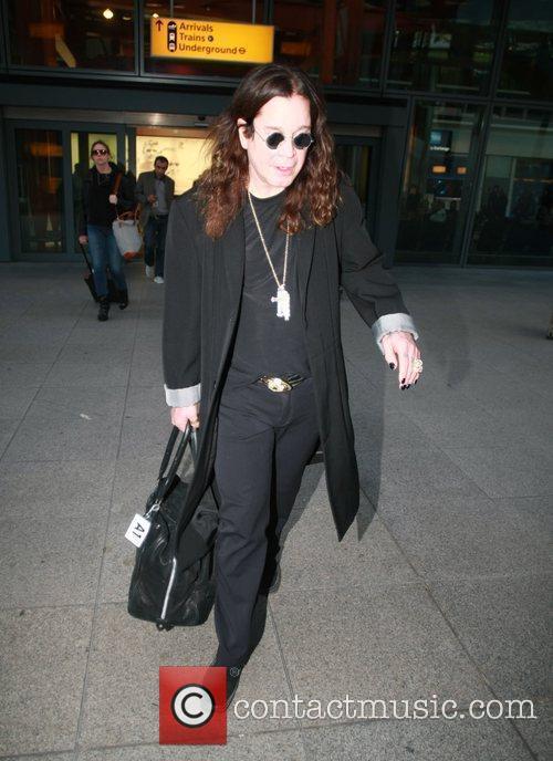 ozzy osbourne arriving at heathrow airport london 3884197