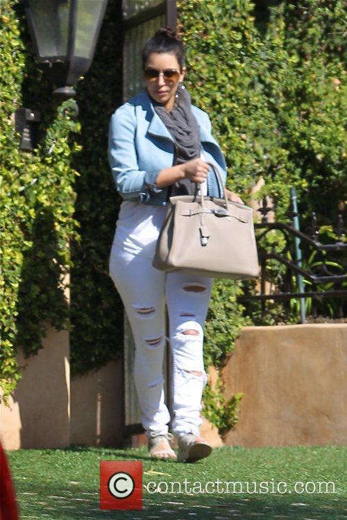 kim kardashian seen leaving her home los 5812626