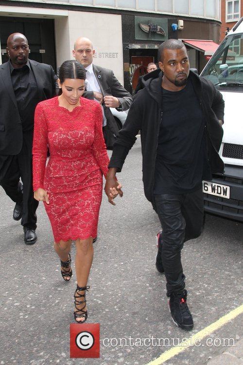 Kim Kardashian, Kanye West and Selfridges 4