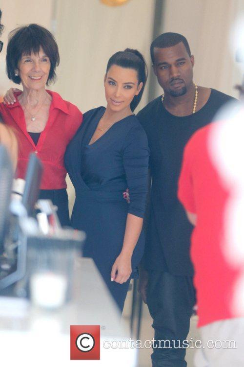 Kim Kardashian and Kanye West 14