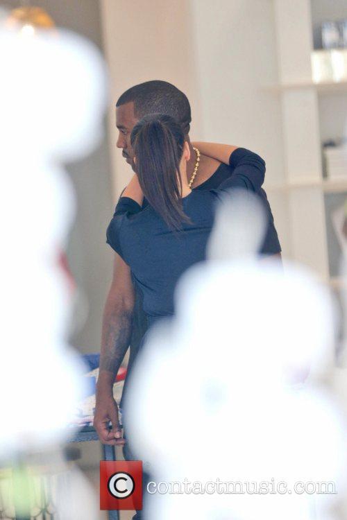 Kim Kardashian and Kanye West 16