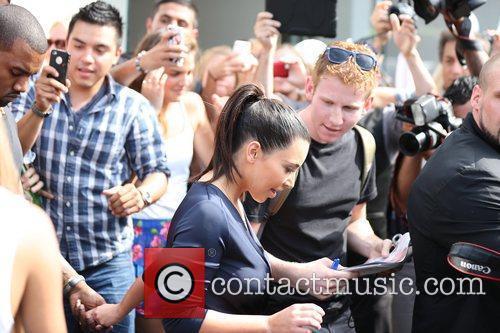 Kim Kardashian and Kanye West 22