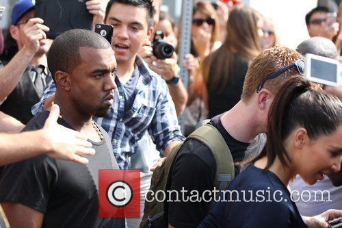 Kim Kardashian and Kanye West 23