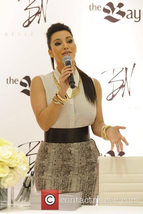kim kardashian attends the launch of belle 5839414