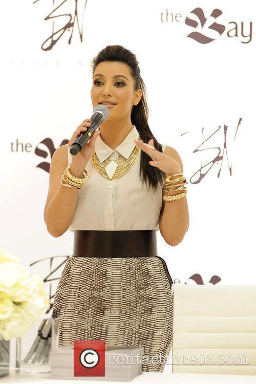 kim kardashian attends the launch of belle 5839415
