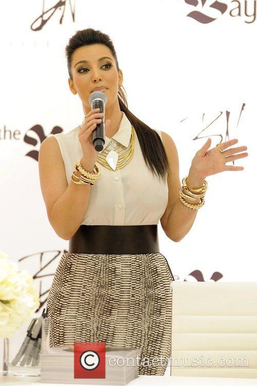 kim kardashian attends the launch of belle 5839416