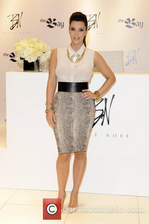 kim kardashian attends the launch of belle 5839427