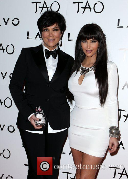 Kris Jenner and Kim Kardashian 7