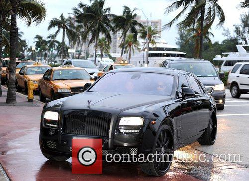 Kim Kardashian, Miami Beach and Rolls Royce 8