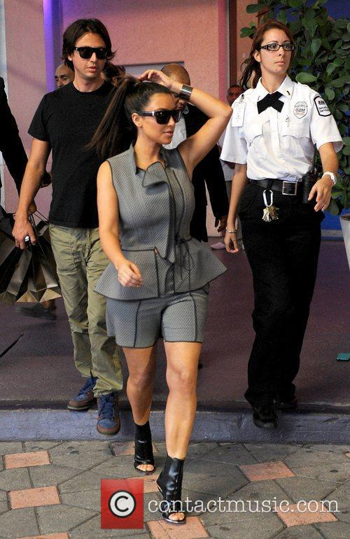 Kim Kardashian, Miami Beach and Jonathan Cheban 2