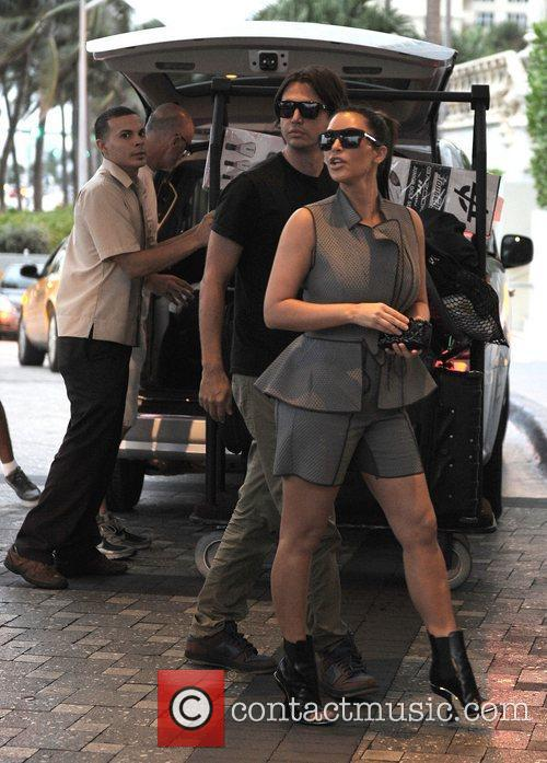 Kim Kardashian, Miami Beach and Jonathan Cheban 11