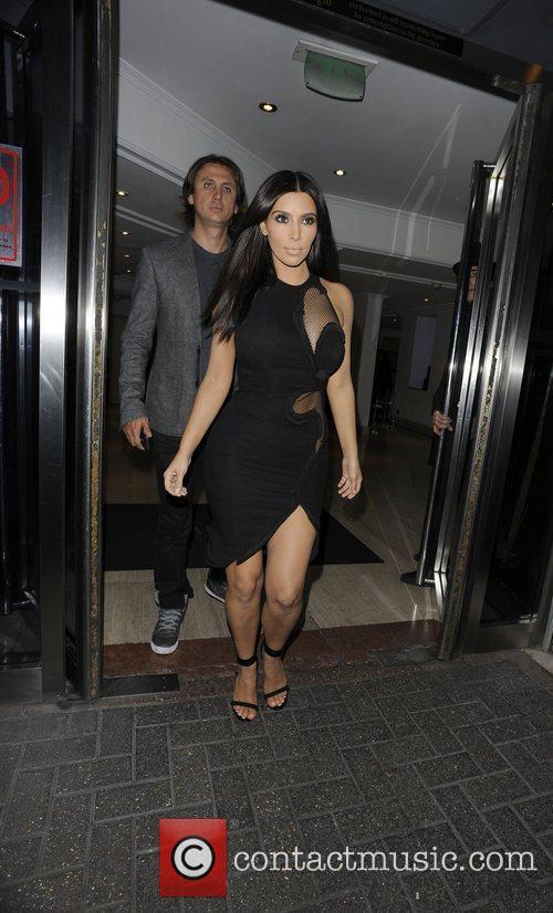 Kim Kardashian and Jonathan Cheban 4